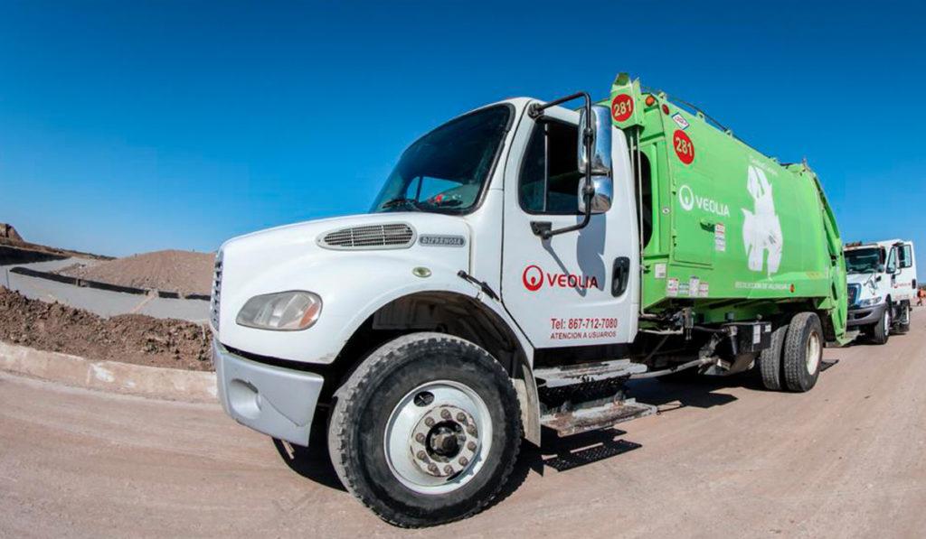 Se normaliza el servicio de Veolia con 30 camiones de basura en Nuevo Laredo
