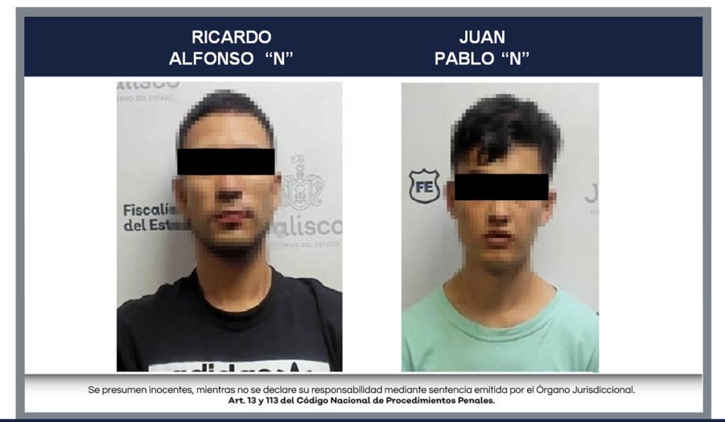 Vinculan a proceso a dos relacionados con robo al transporte en Jalisco