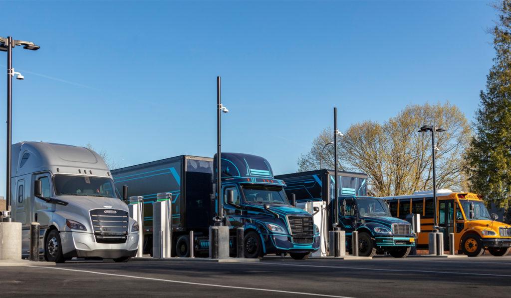 DTNA y PGE abren primer sitio de carga para camiones eléctricos