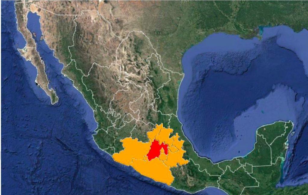 Alertan a siete estados por robo de fuente radioactiva