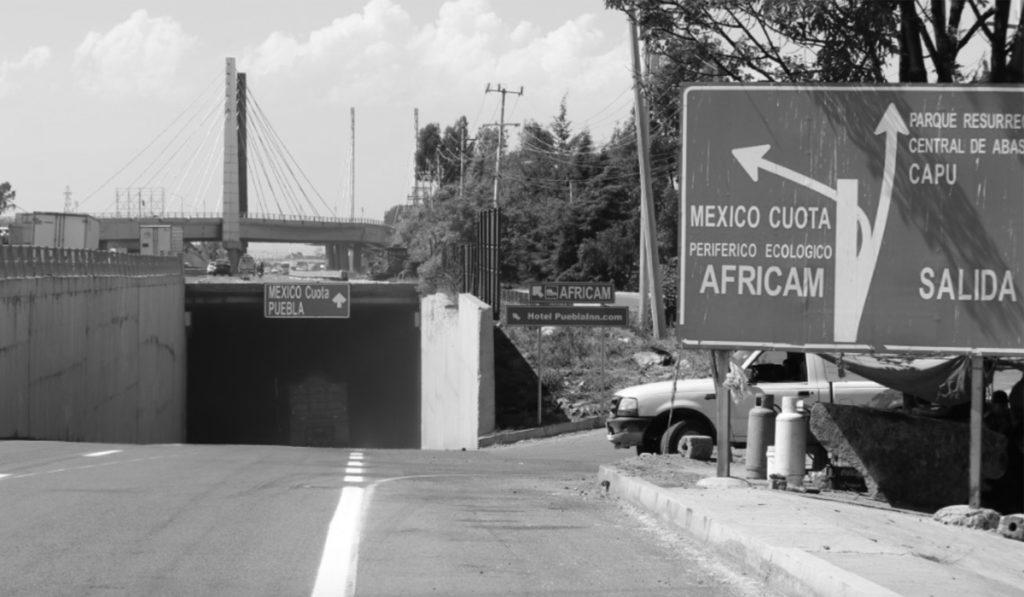 Anuncian cierre nocturno del túnel de acceso al Periférico ecológico en Puebla