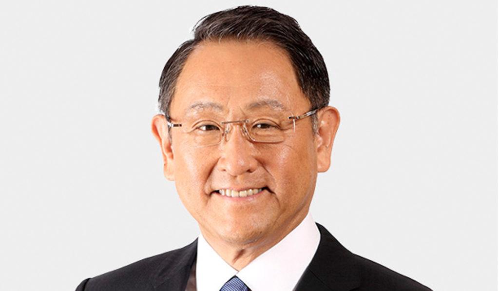Presidente de Toyota, electo como Persona del Año en el Mundo Automotriz 2021