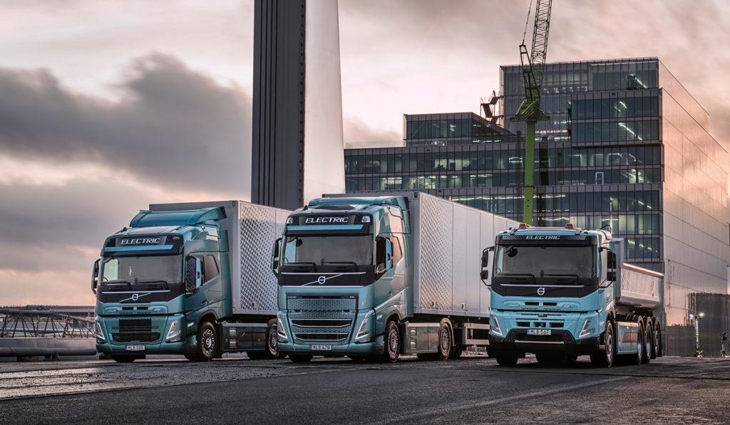 Volvo Trucks, en camino hacia la electrificación del transporte de mercancías