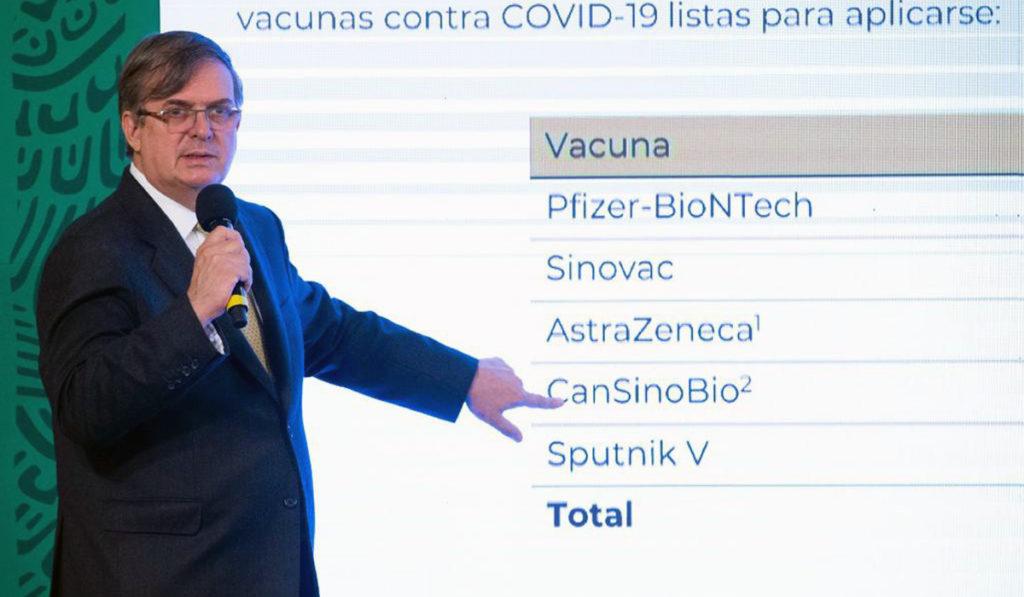 Gobierno de AMLO arranca gira por vacunas COVID-19