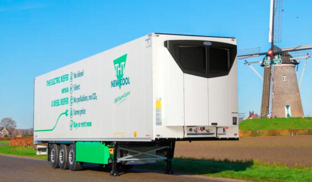 Carrier y THT New Cool presentan sistema eléctrico de refrigeración para remolques