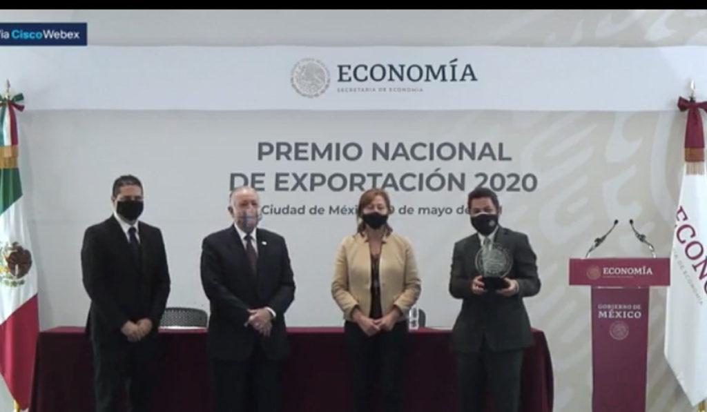 Navistar México recibe el Premio Nacional de Exportación 2020