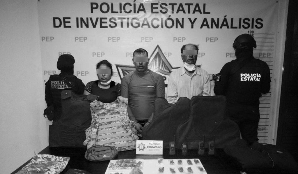 """Caen 3 de """"Los Monstruos"""" por robo de carga en Puebla"""