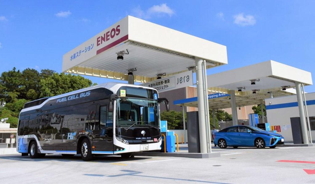 Toyota y ENEOS desarrollan la ciudad basada en hidrógeno en Japón