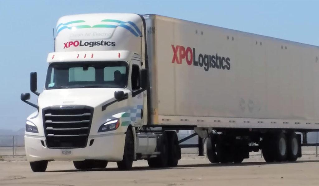 XPO Logistics arranca pruebas con el eCascadia
