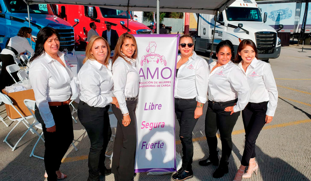 Llega a Tijuana la primera Asociación de Mujeres Operadoras de Vehículos de Carga