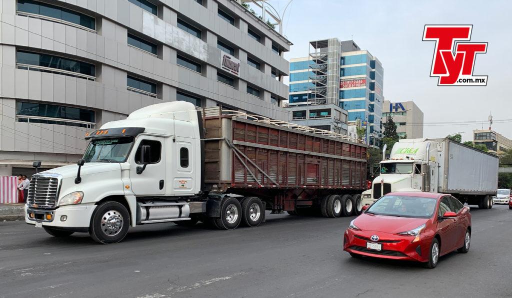 Robo a transportistas en la CDMX incrementa 71.4% en el primer cuatrimestre