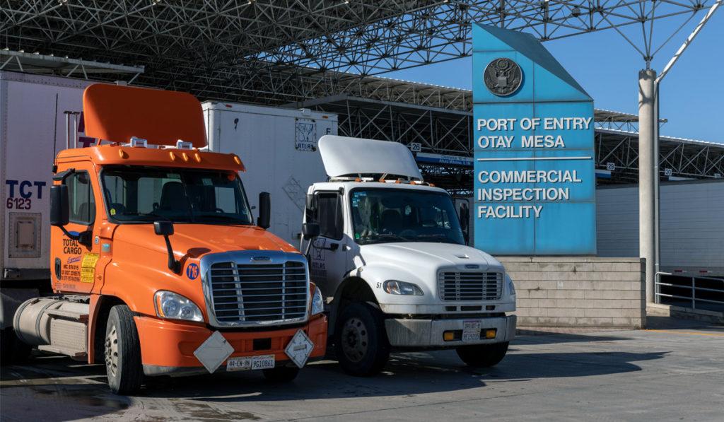 Estos cuatro cruces fronterizos impulsan al autotransporte entre México y EU