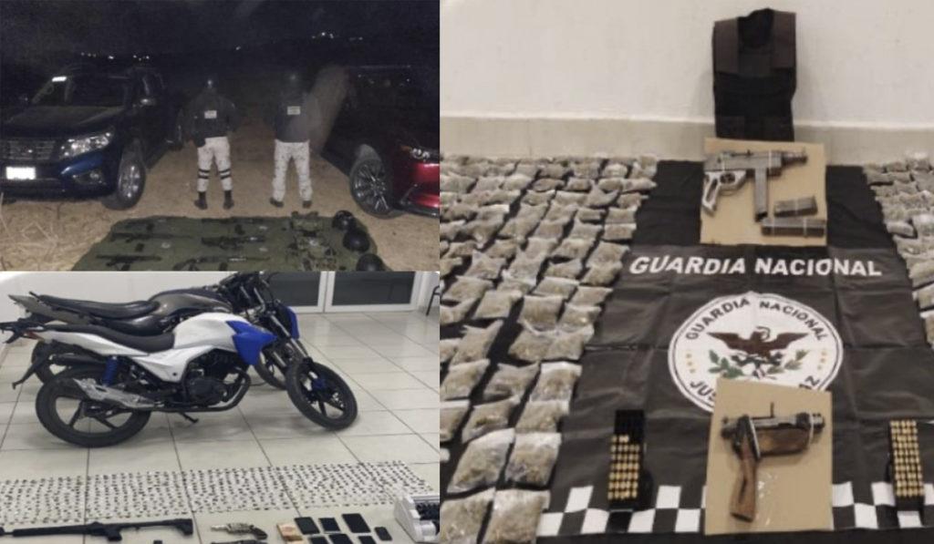 Aseguran 19 unidades de transporte en Guanajuato