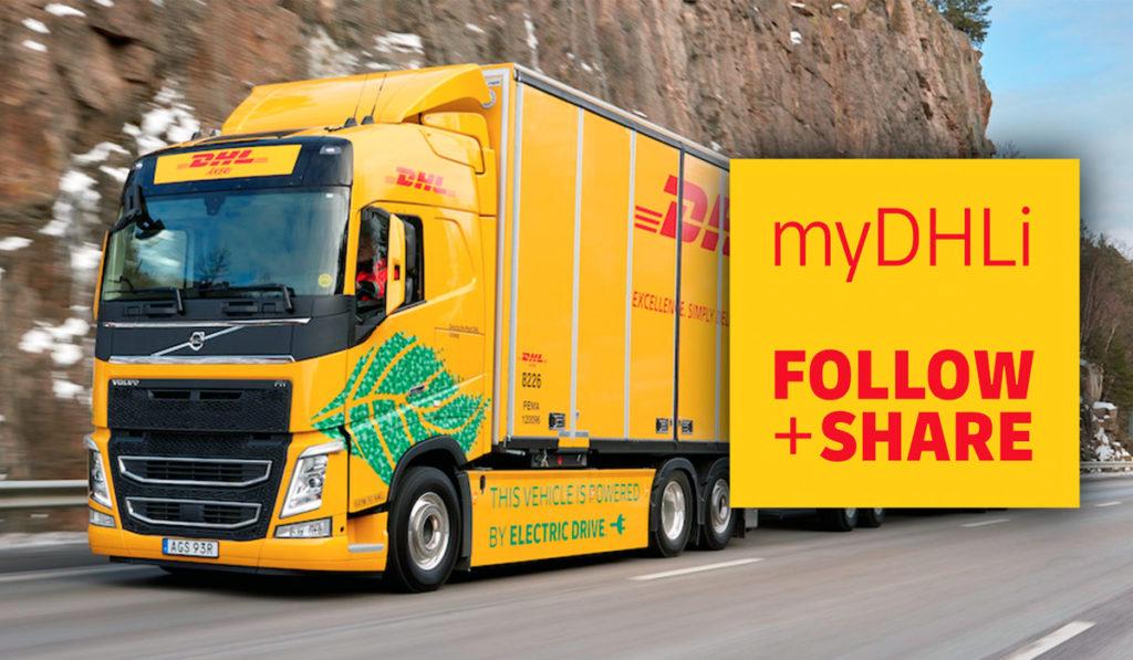 Plataforma myDHLi, disponible para autotransporte de carga