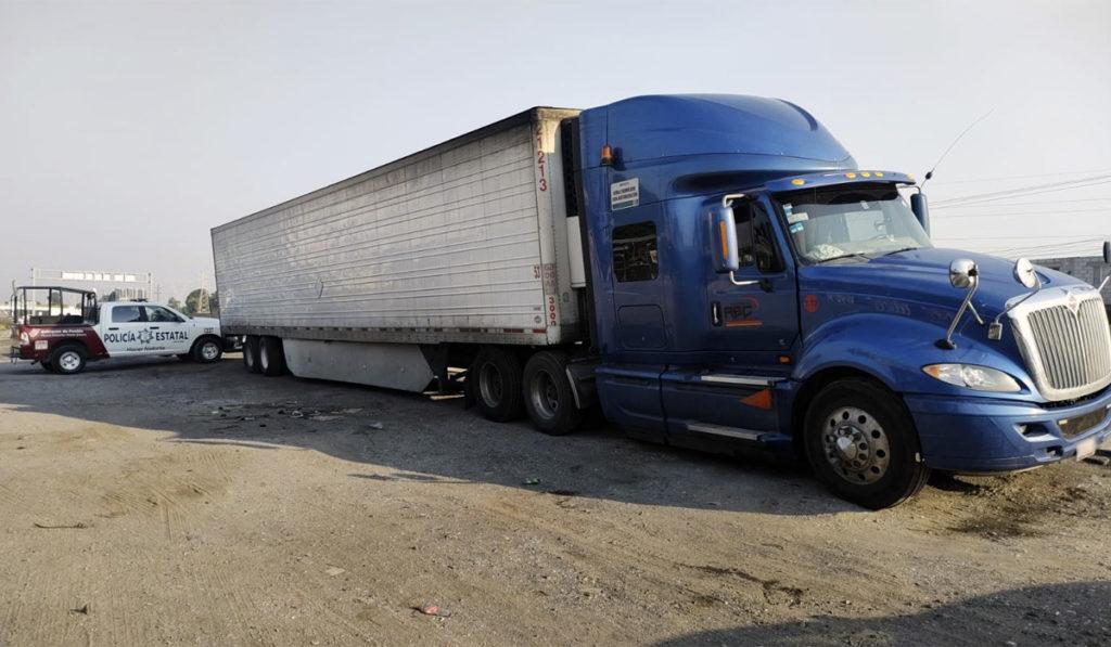 Con plataforma Centinela caen 56 presuntos implicados en robo a transporte de carga