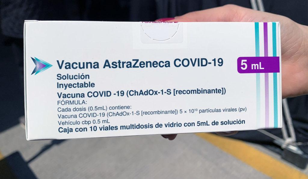 COFEPRIS libera más de un millón de vacunas AstraZeneca envasadas en México
