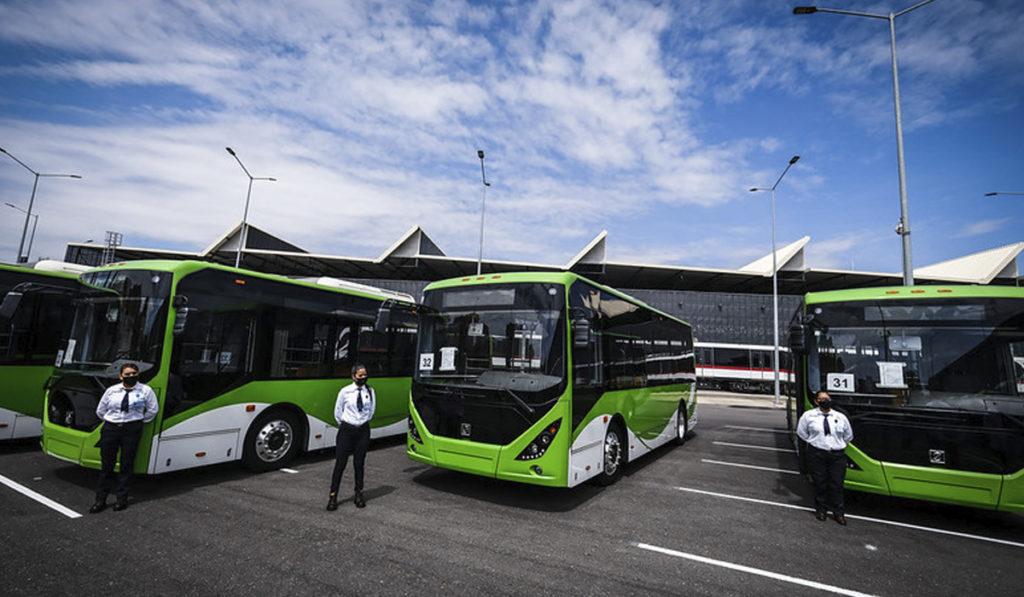 Jalisco presenta la primera línea de transporte eléctrica en el país
