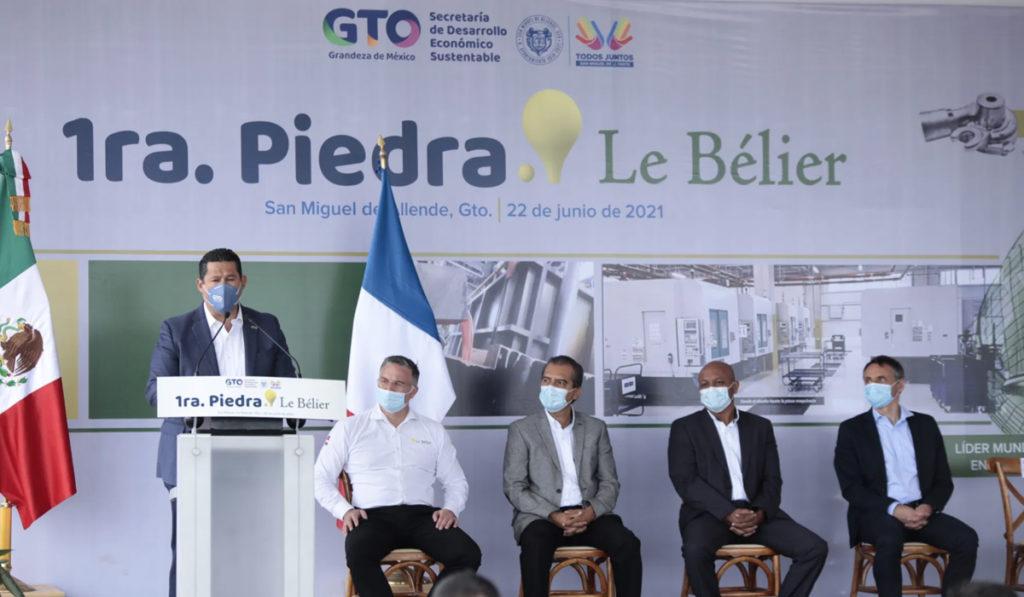 Invierten más de 2 mil mdd para nueva planta de autopartes en Guanajuato