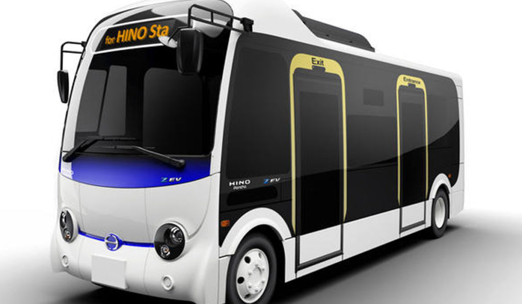 Hino alista autobús eléctrico para 2022
