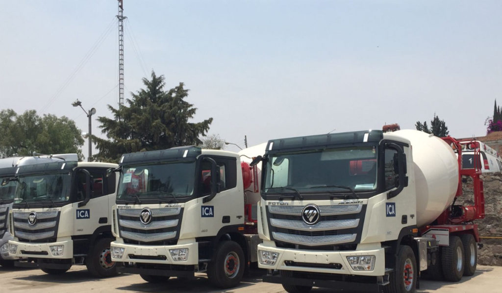 ICA agrega a su flota 11 unidades Foton