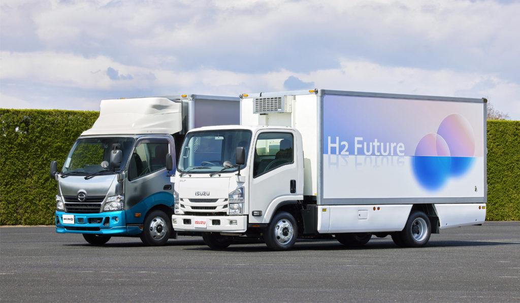 Isuzu y Toyota, juntos por una ciudad basada en hidrógeno en Japón
