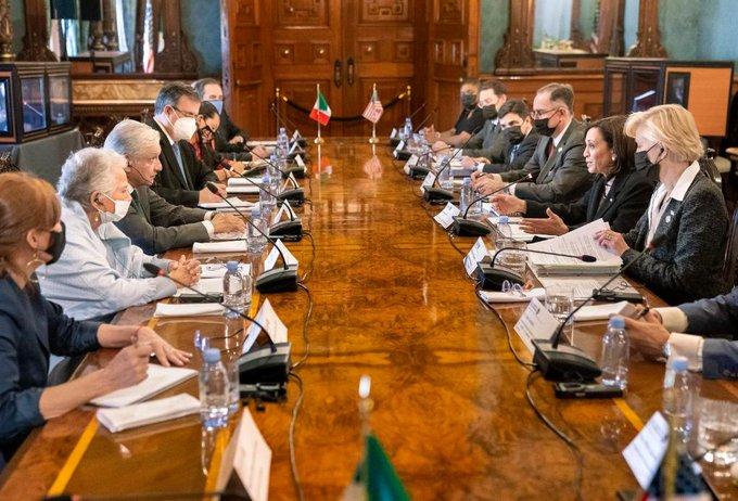 México y EU acuerdaN diálogos sobre economía y seguridad: Kama Harris
