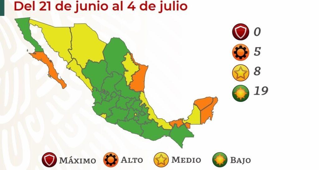 La CDMX regresa a semáforo amarillo: Secretaría de Salud