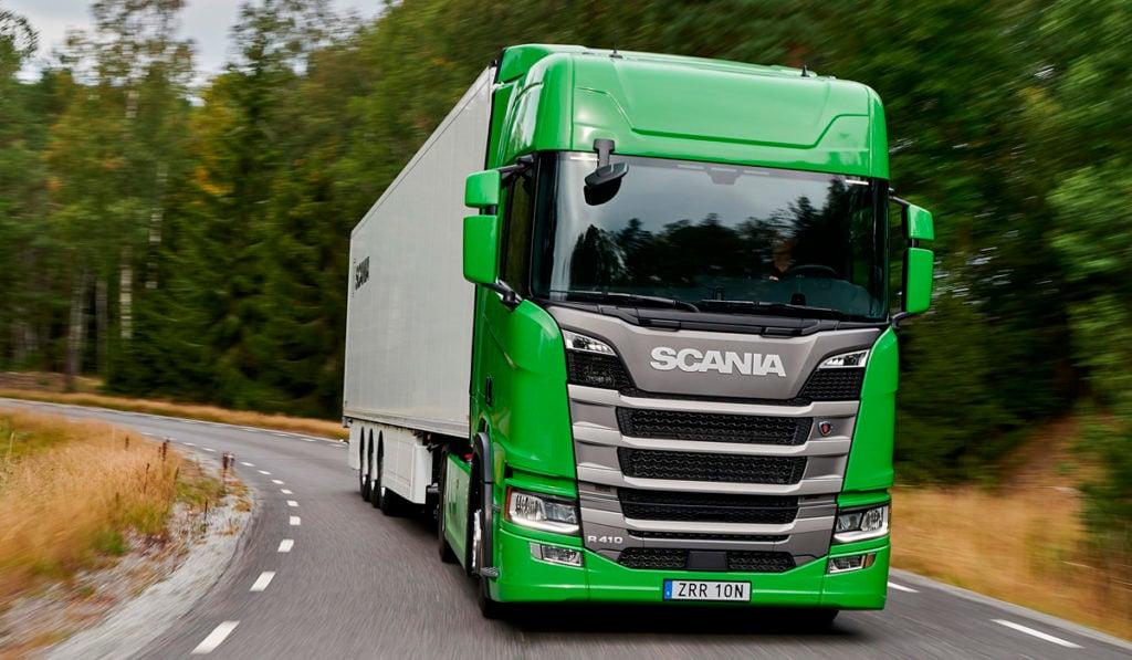 Scania, reconocida como Green Truck en Alemania
