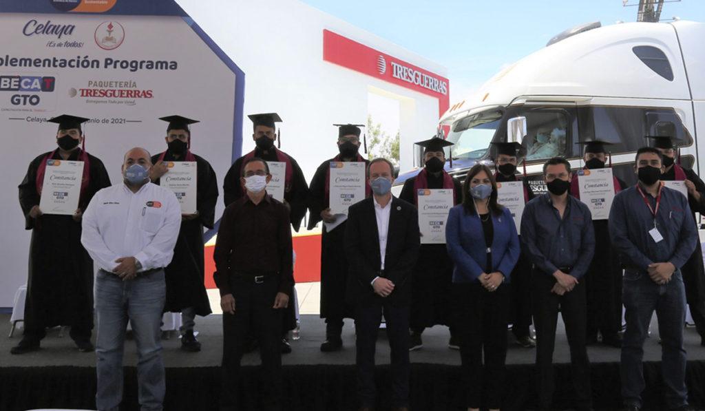 Gobierno de Guanajuato certifica a operadores de Tresguerras