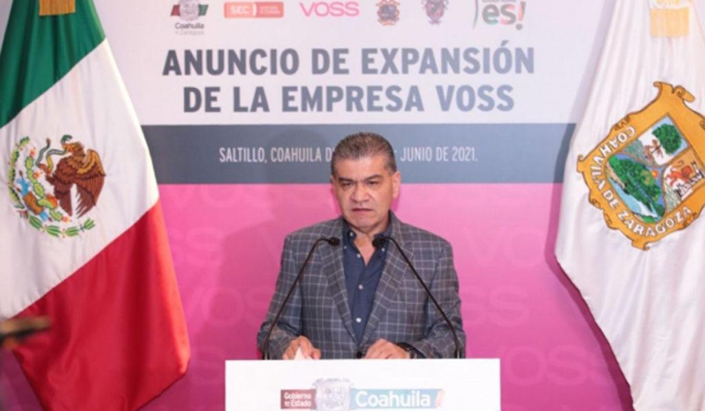 Voss Automotive crece en Coahuila con 'jugosa' inversión