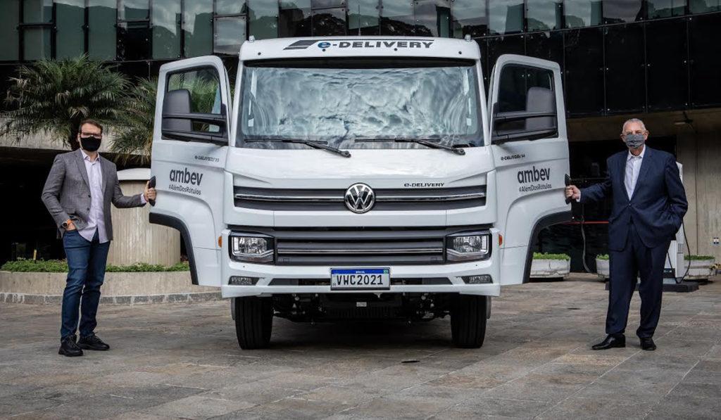 VWCO entrega el primer e-Delivery a Ambev