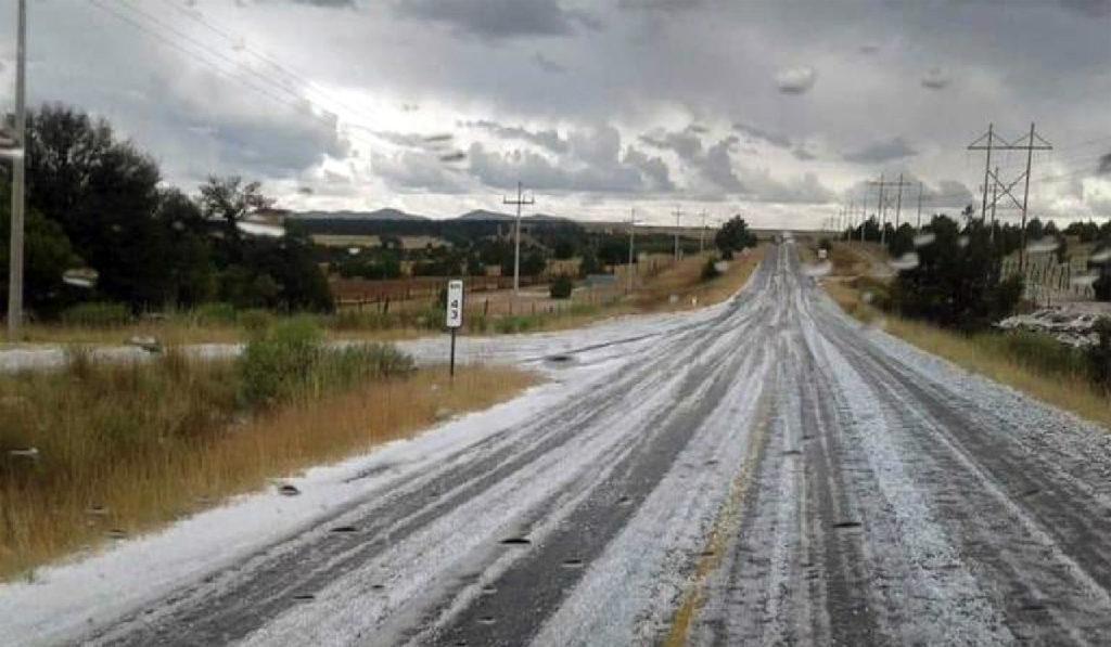 El clima: lluvias muy fuertes y granizadas para el sur del país