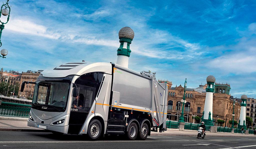 Irizar y FFC producirán 10 eléctricos ie urban truck para la recolección de residuos
