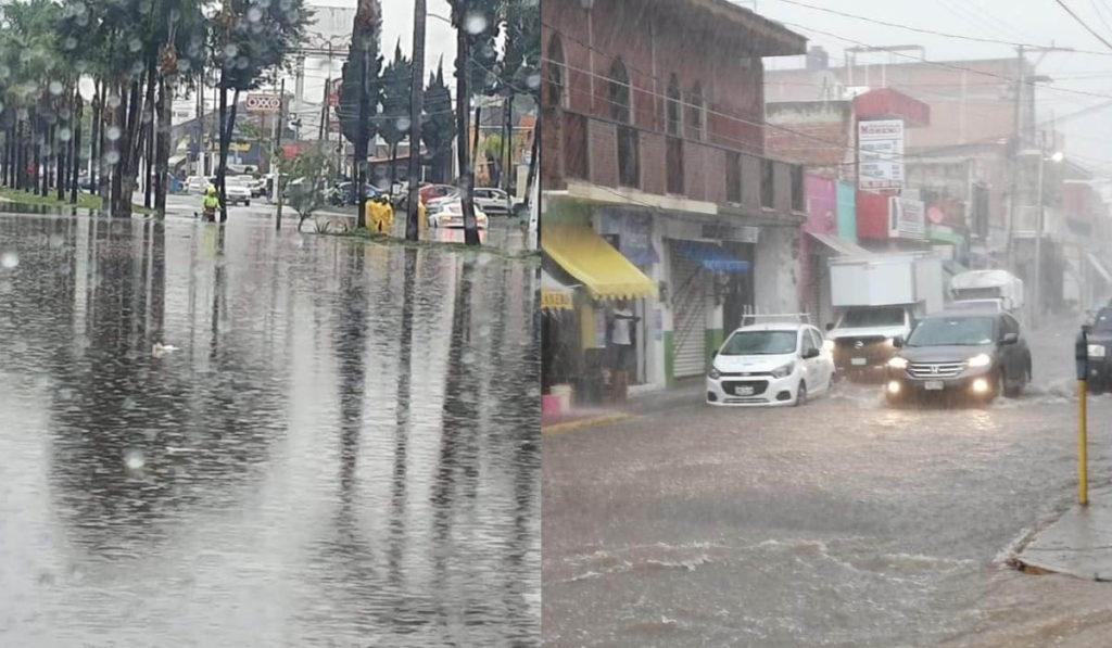 Lluvias provocan deslaves y otras afectaciones en AMG