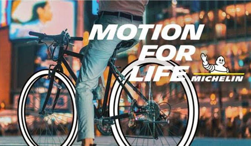 Michelin presenta su nueva campaña Motion for Life