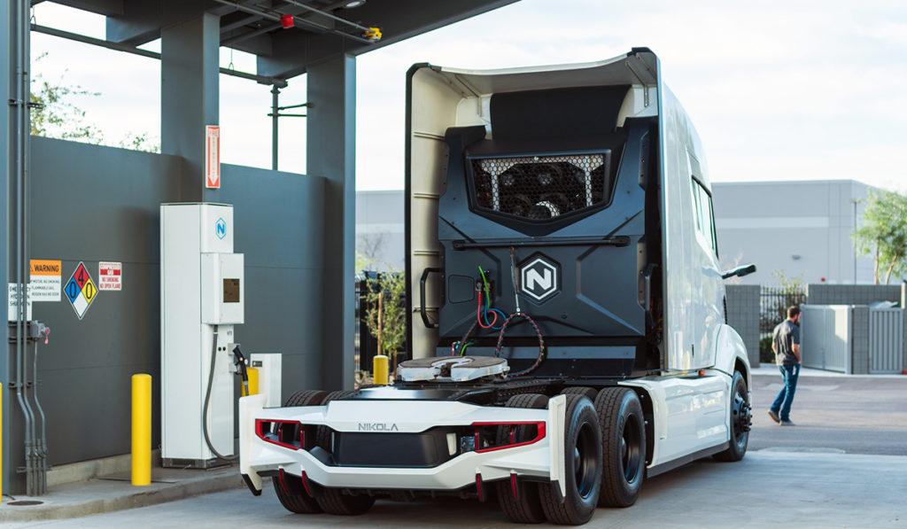 Nikola inyecta 50 mdd a la producción de hidrógeno para sus camiones