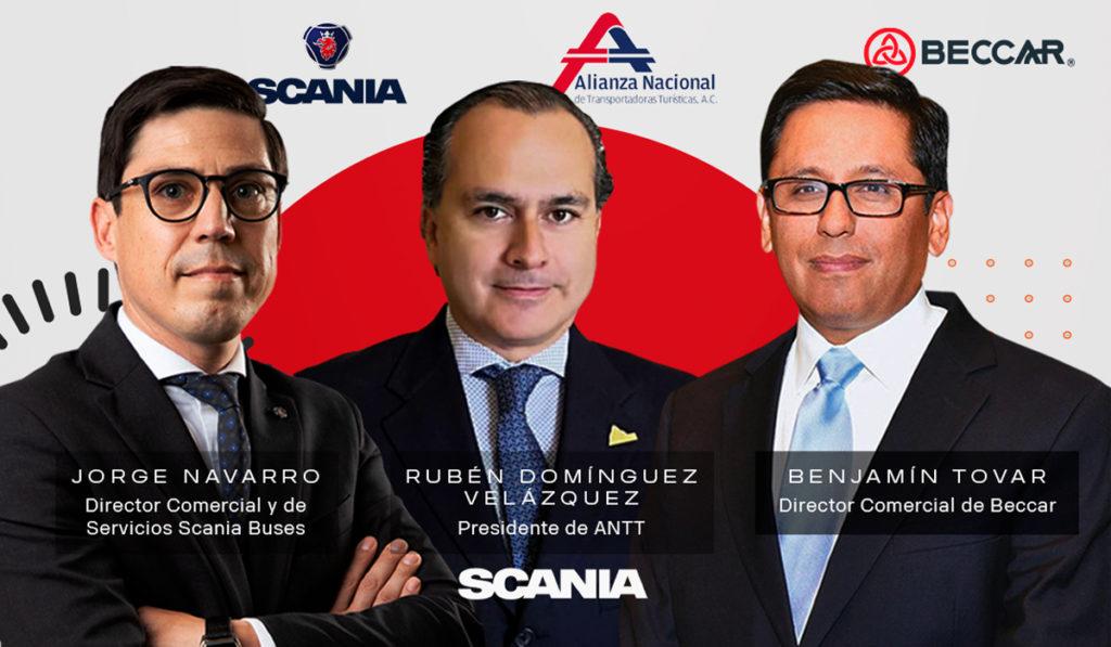 ANTT y Beccar, presentes en Scania Talks