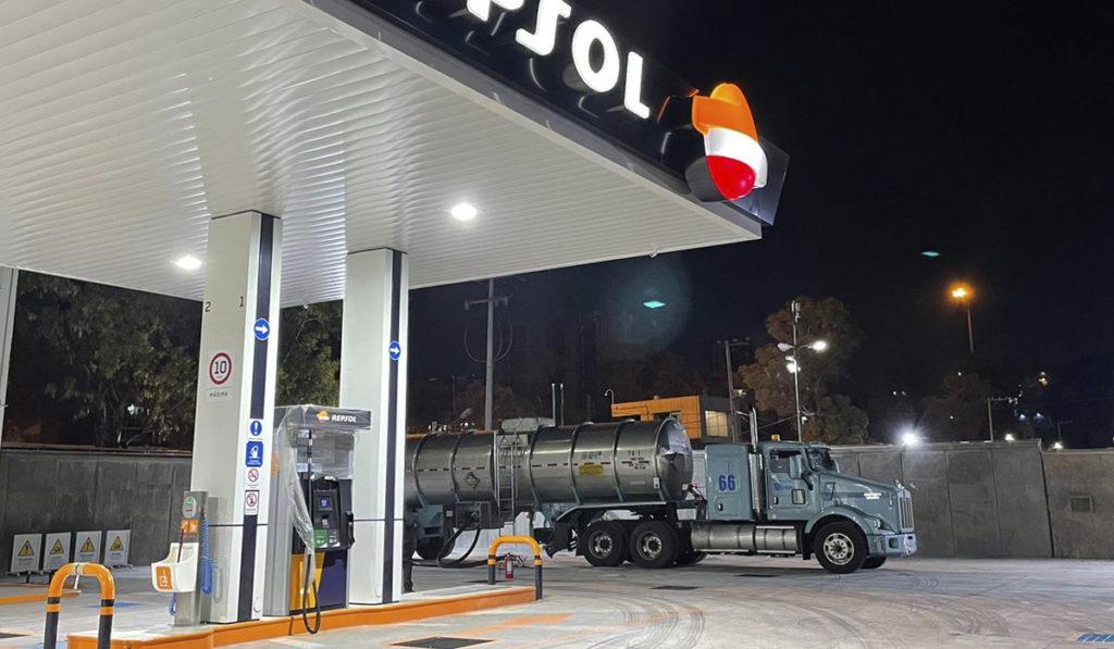 Nace estación de combustible solo para transportistas en CDMX