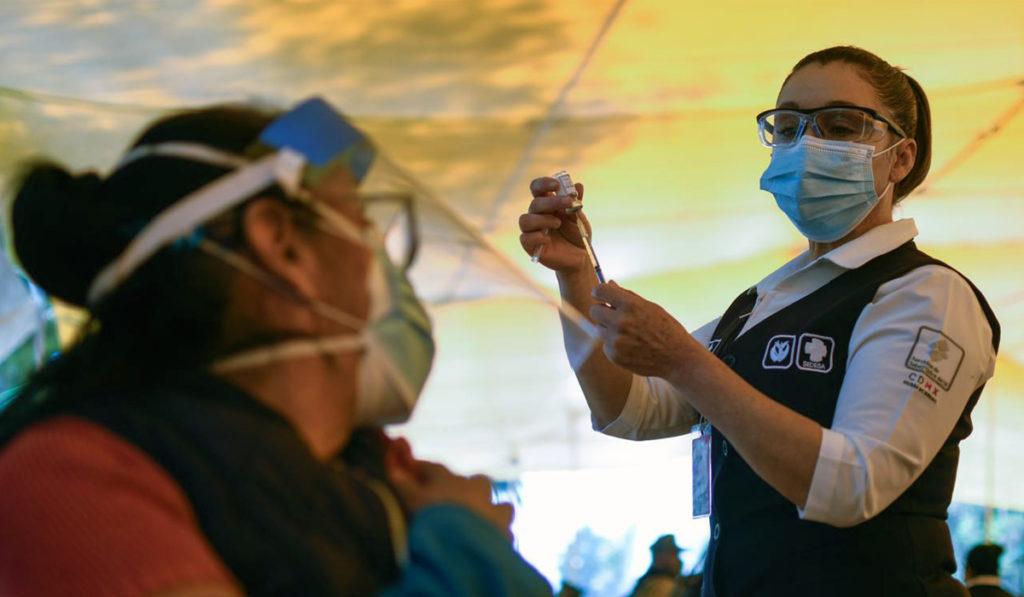 CDMX se prepara para vacunación masiva de mayores de 30 años
