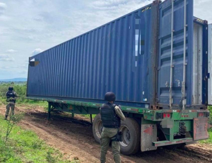 Recuperan equipo pesado robado en Abasolo y Juventino Rosas, Guanajuato