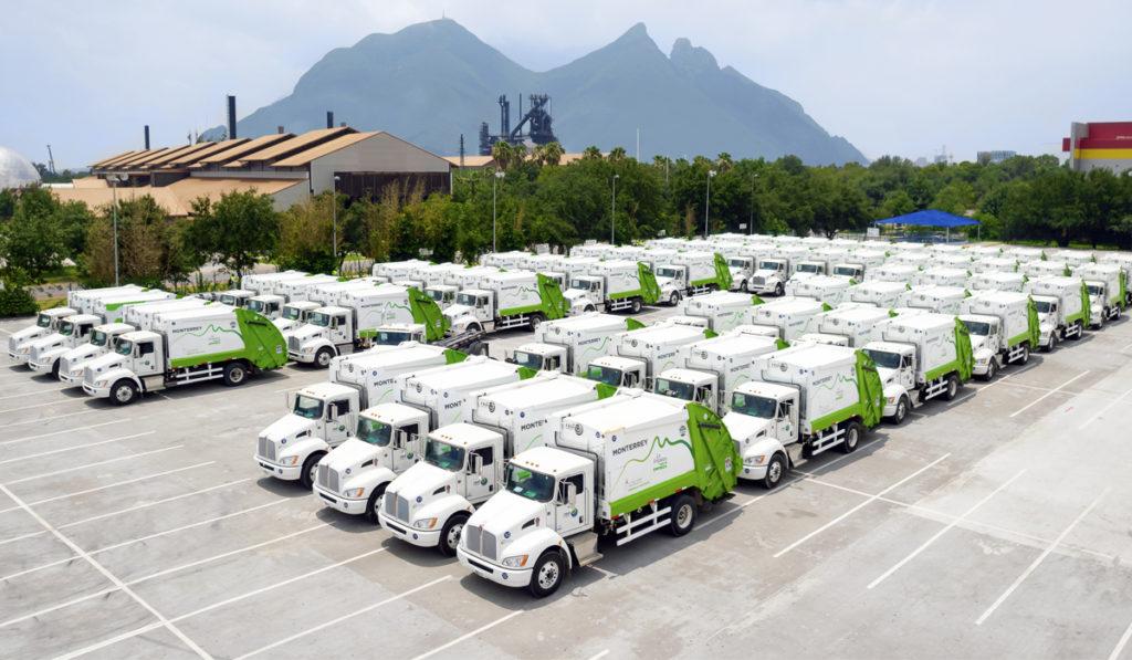 Con Kenworth, Red Ambiental renueva toda su flota en Monterrey