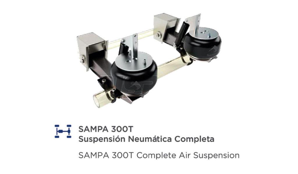 Calidad completa Sampa, ahora en México-LATAM para todos los vehículos de equipo pesado