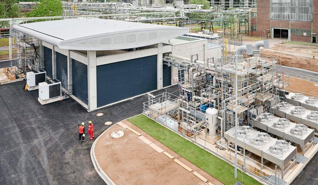 Shell tiene el electrolizador de hidrógeno verde más grande de Europa