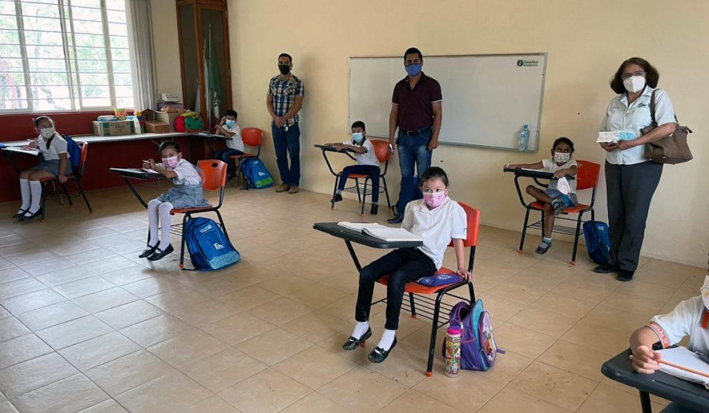 En agosto hay condiciones para regreso a clases presenciales: AMLO