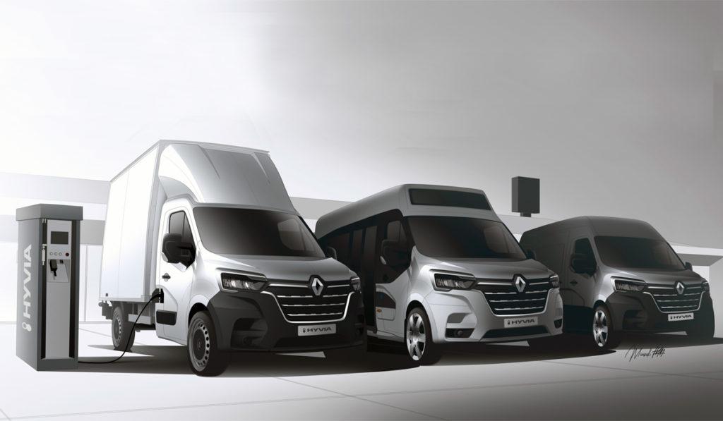 Tres vehículos comerciales a hidrógeno que Renault lanzará este 2021