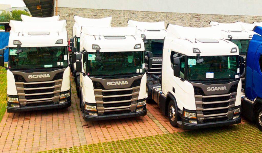 Scania México entrega 25 tractos a PNT