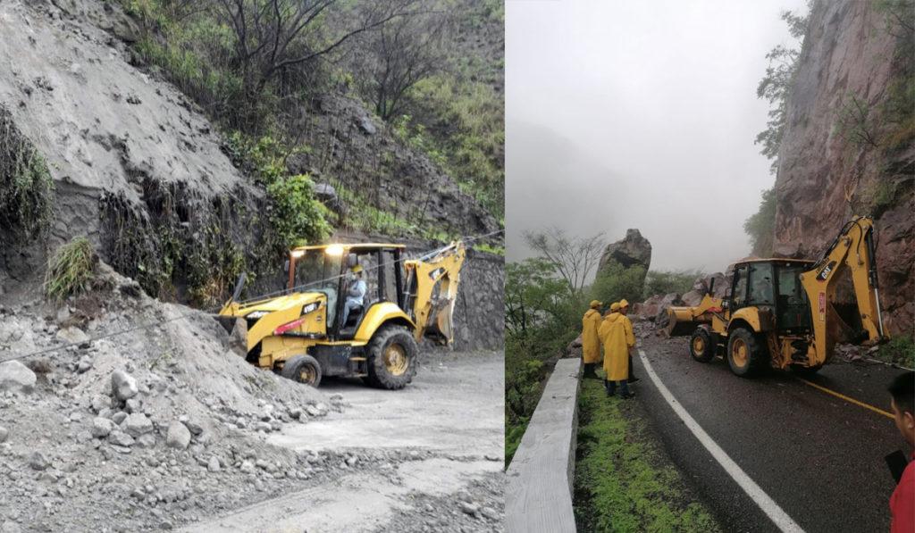 SCT despliega cuadrillas para reparar afectaciones por las lluvias