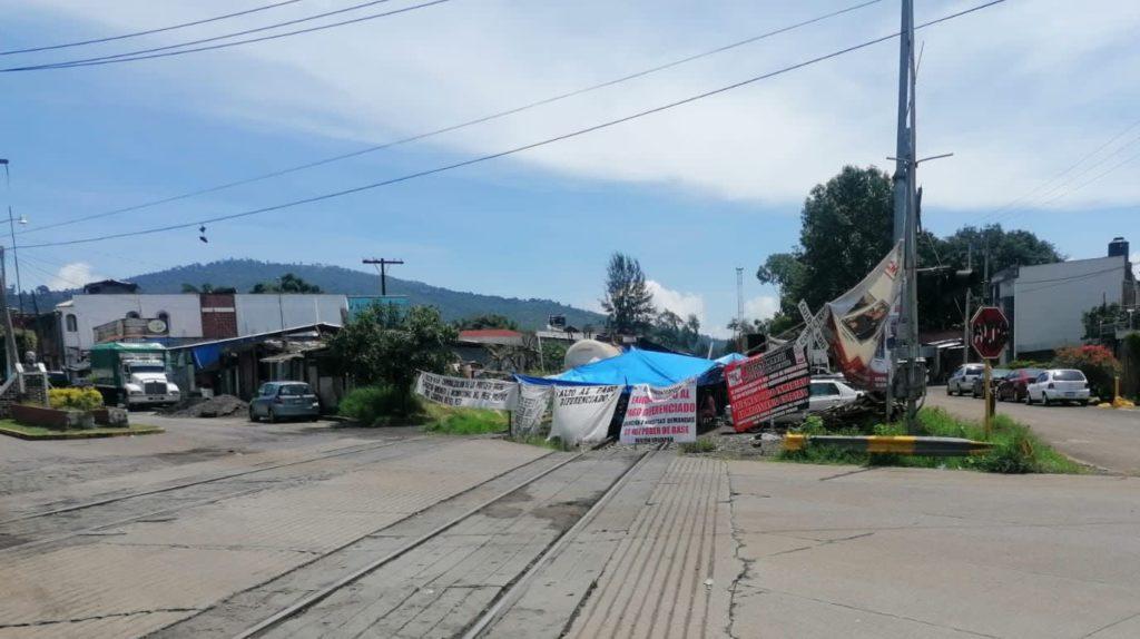 Concamin pide a AMLO poner fin a bloqueos ferroviarios en Michoacán