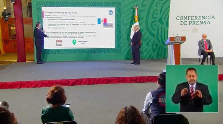 Diálogo Económico de Alto Nivel entre México y EU será el 9 de septiembre: Ebrard
