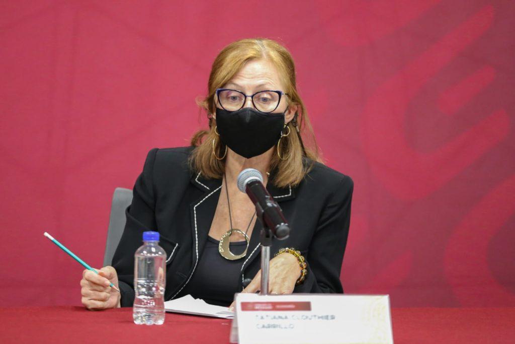 Tatiana Clouthier planteará al SAT complejidad del complemento Carta Porte